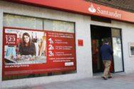Sucursal del Banco Santander.