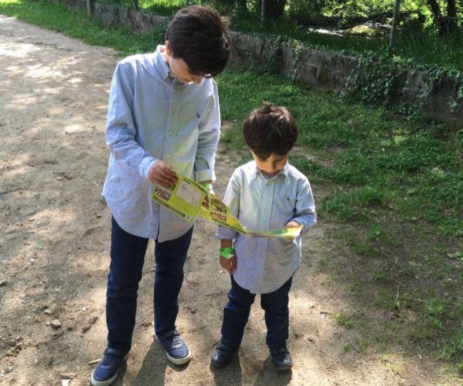 Otto y su hermano Alejo.