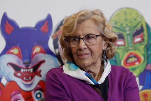La alcaldesa Manuela Carmena.