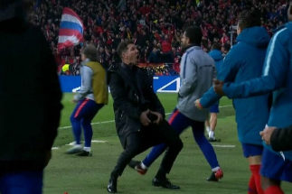 Simeone no es sancionado por su gesto ante la Juventus