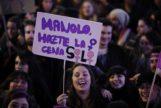 Imagen de la manifestación del 8M el año pasado en Madrid.