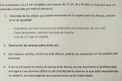 La iniciativa feminista de un instituto de Huelva que escandaliza a Vox