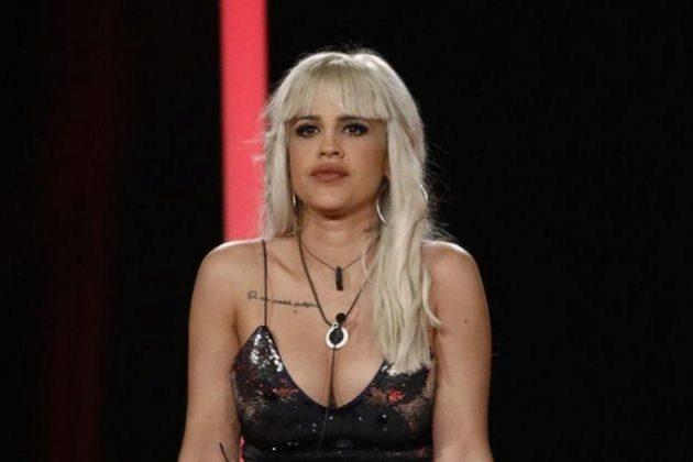 Ylenia Padilla en la sala de expulsión de GH Dúo en Telecinco