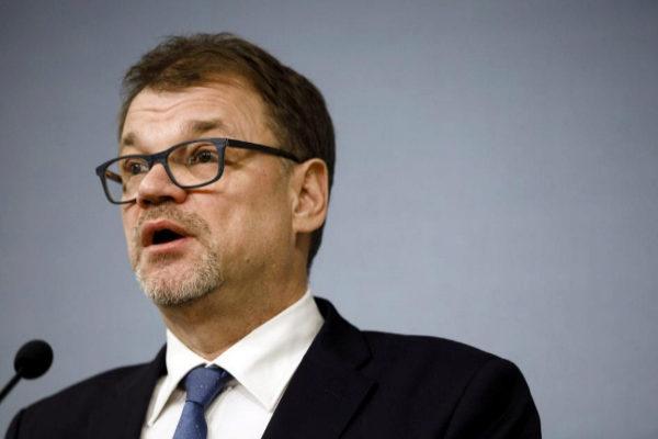 Finnish PM <HIT>Sipila</HIT> resigns in Helsinki