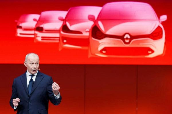 El presidente de Renault, Thierry Bolloré, consejero delegado del Grupo Renault