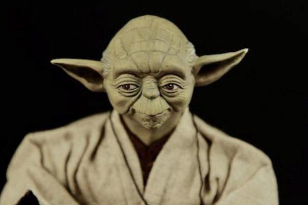 El maestro Yoda, una de las piezas de la colección.