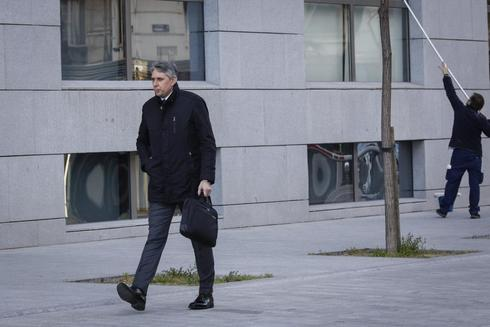 El inspector jefe de la Policía José Ángel Fuentes Gago, a su llegada a la Audiencia Nacional, este jueves.
