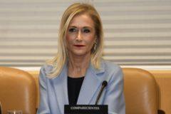 Cristina Cifuentes, en la comisión, esta semana.
