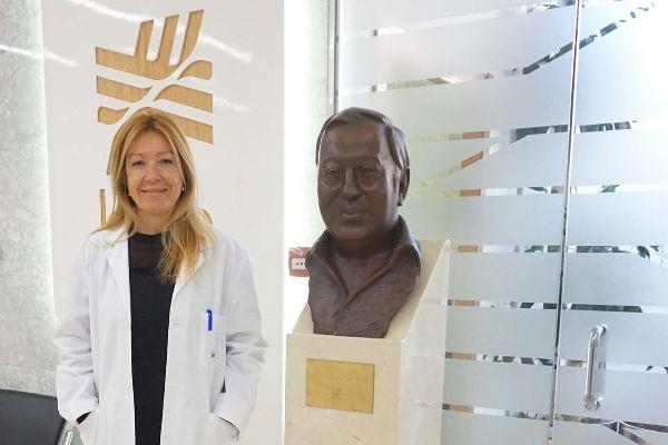 La doctora Tanya Álvarez, responsable  de la Unidad Genética Médica del Hospital Clínica Benidorm.