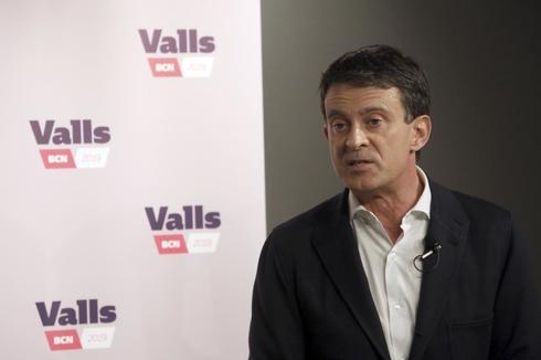 Manuel Valls, candidato a las municipales de Barcelona.