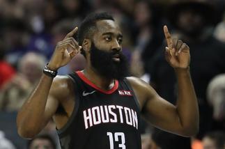 Harden supera el susto y eleva a los Rockets al séptimo cielo