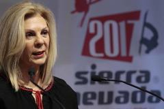 La ex consejera delegada de Cetursa, María José López.