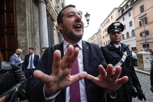 El ministro del Interior y vicepresidente del Gobierno de Italia, Matteo Salvini.