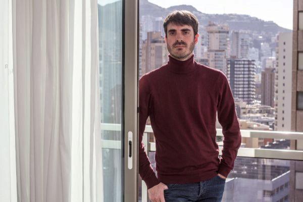 Pablo Simón, este sábado en Benidorm.