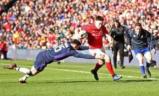 Gales, a un paso de la gloria