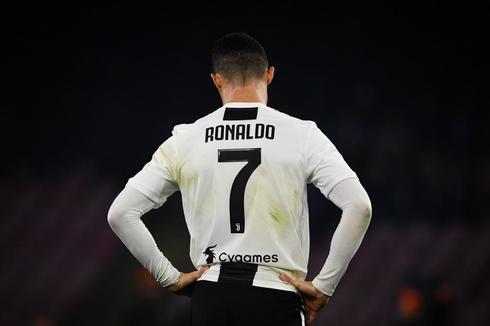 Cristiano Ronaldo, durante un partido reciente de la Juventus.