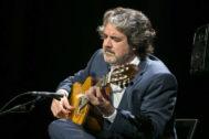 El guitarrista Rafael Riqueni, durante una actuación.