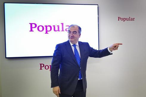 El ex presidente del Banco Popular, Ángel Ron.