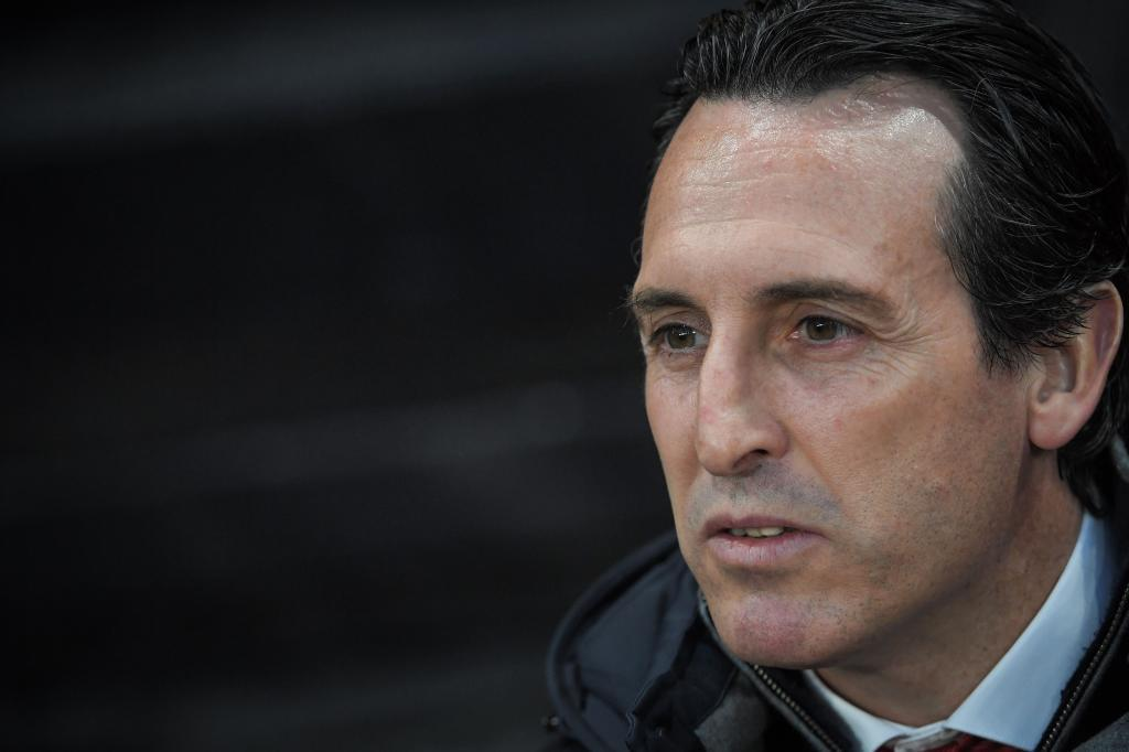 <HIT>Arsenal</HIT>'s Spanish coach Unai Emery attends the UEFA Europa League round of 16 first leg football match between Stade Rennais FC and <HIT>Arsenal</HIT> FC at the Roazhon Park stadium in Rennes, northwestern France on March 7, 2019. (Photo by LOIC VENANCE / AFP)