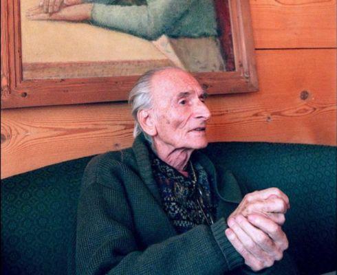 El pintor Balthus.
