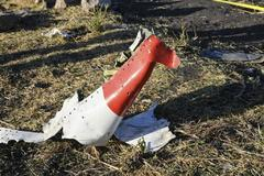 DAI15. Bishoftu (Ethiopia).- Wreckage lies at the crash site of Ethiopia Airlines <HIT>Boeing</HIT> 737 Max 8 en route to Nairobi, Kenya, near Bishoftu, Ethiopia, 10 March 2019. All passengers onboard the scheduled flight ET 302 carrying 149 passengers and 8 crew members, have died, the airlines says. (Etiopía, Kenia) EPA/