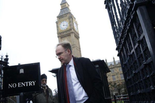 El ex representante permanente de Reino Unido en la UE, Ivan Rogers, en Londres.