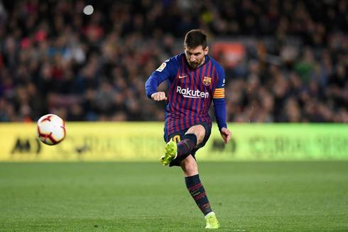 El jugador del FC Barcelona Leo Messi