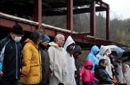 Minuto de silencio en memoria de las víctimas del terremoto y posterior tsunami en Japón.