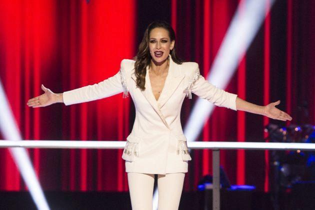 Eva González presenta la batalla final de La Voz en Antena 3