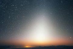 Luz cenicienta y luz zodiacal