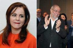 Silvia Clemente y Francisco Igea.