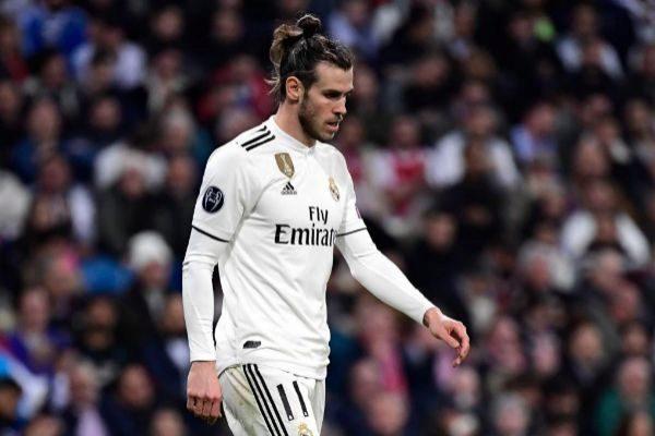 Gareth Bale, durante un partido del Real Madrid.