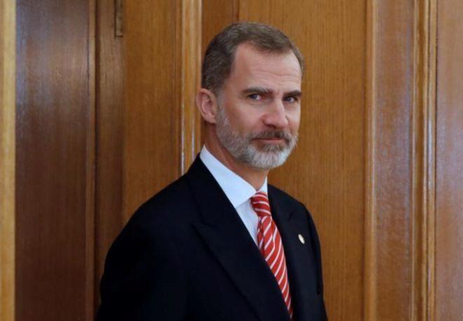 Su Majestad, el Rey Felipe VI.