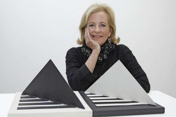 La coleccionista y mecenas venezolana Patricia Phelps de Cisneros en el MoMA de Nueva York.