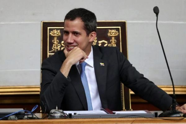 El presidente de la Asamblea Nacional de Venezuela, Juan Guaidó.