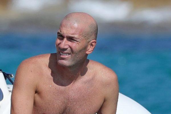 Zinedine Zidane en Ibiza