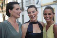Las hermanas Alejandra, Claudia y Eugenia Osborne