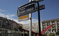 Plaza de Pedro Zerolo, en el barrio de Chueca.