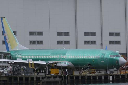Un Boeing modelo MAX 9 en la fábrica de Renton, Washington.