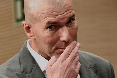 Zinedine Zidane este martes en su regreso al Real Madrid. AFP 48fc2e9c591d6