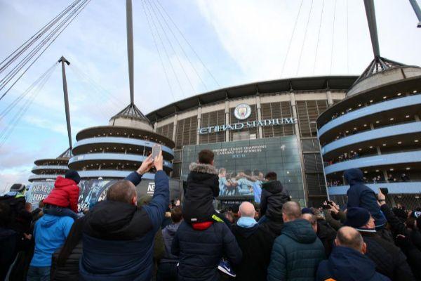 Imagen del Etihad Stadium, hogar del Manchester City.