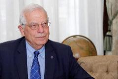 Borrell dice que España estudiará acoger a personas próximas a Maduro