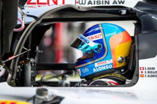 Fernando Alonso, casi en las antípodas de la F1