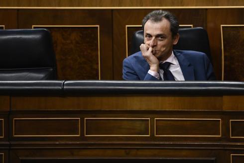 Pedro Duque en Congreso de los Diputados.