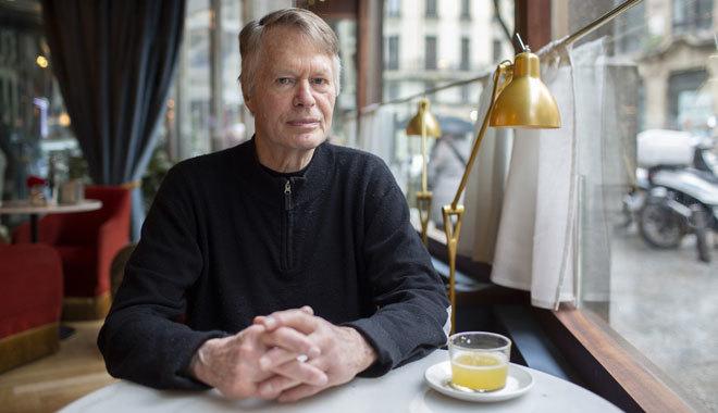 El escritor francés, fotografiado en Madrid.