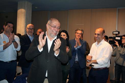 Francisco Igea, ganador del proceso de primarias de Ciudadanos en Castilla y León.
