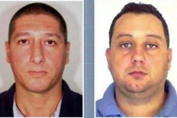 Los dos policías brasileños detenidos por el asesinato de Marielle Franco.