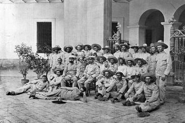 'Los últimos de Filipinas', el destacamento de Baler.
