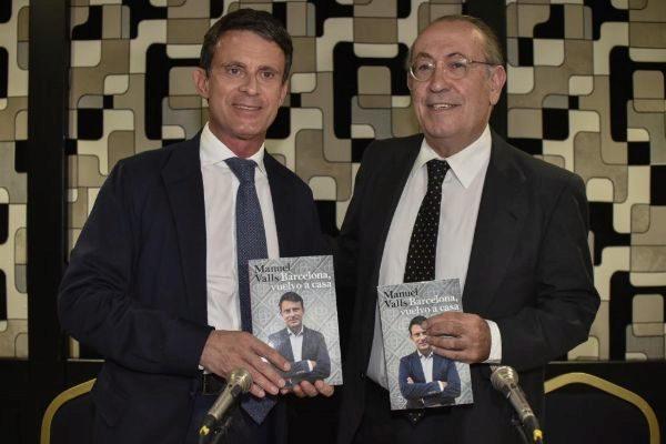 """Nicolás Redondo, Presidente de la Fundación para la Libertad, presenta el libro Manuel Valls, """"Barcelona, vuelvo a casa"""". ARABA PRESS - 12/03/2019 - <HIT>Bilbao</HIT>, País Vasco"""