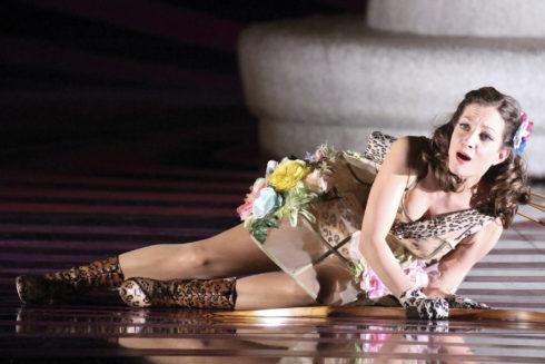 Aspecto del montaje de 'La Calisto' que llega al Teatro Real este domingo.